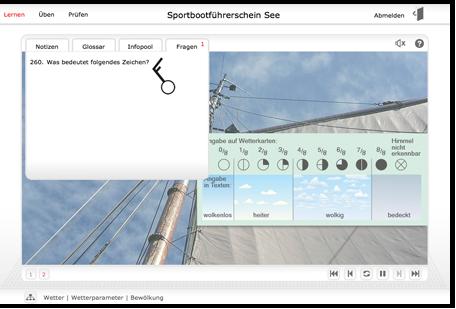 SBF See Online Kurs Screenshot