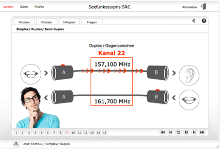 SRC Online Kurs Screenshot