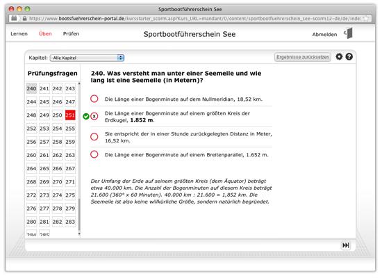 Bootsf hrerschein portal sbf see pr fungsfrage for Geschwindigkeit in knoten